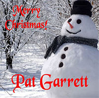 Holiday Songs from Pat Garrett